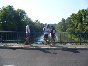 Krivošťany -most cez rieku Laborec