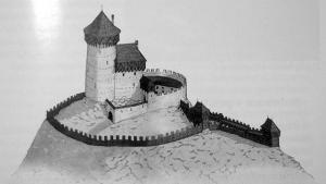 panstvo Tibava - hrad Podhoroď
