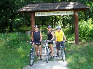 bicyklom za históriou Sobraneckých kúpeľov a Okolo Zemplínskej Šíravy 10.6.2018 (foto Gazda)