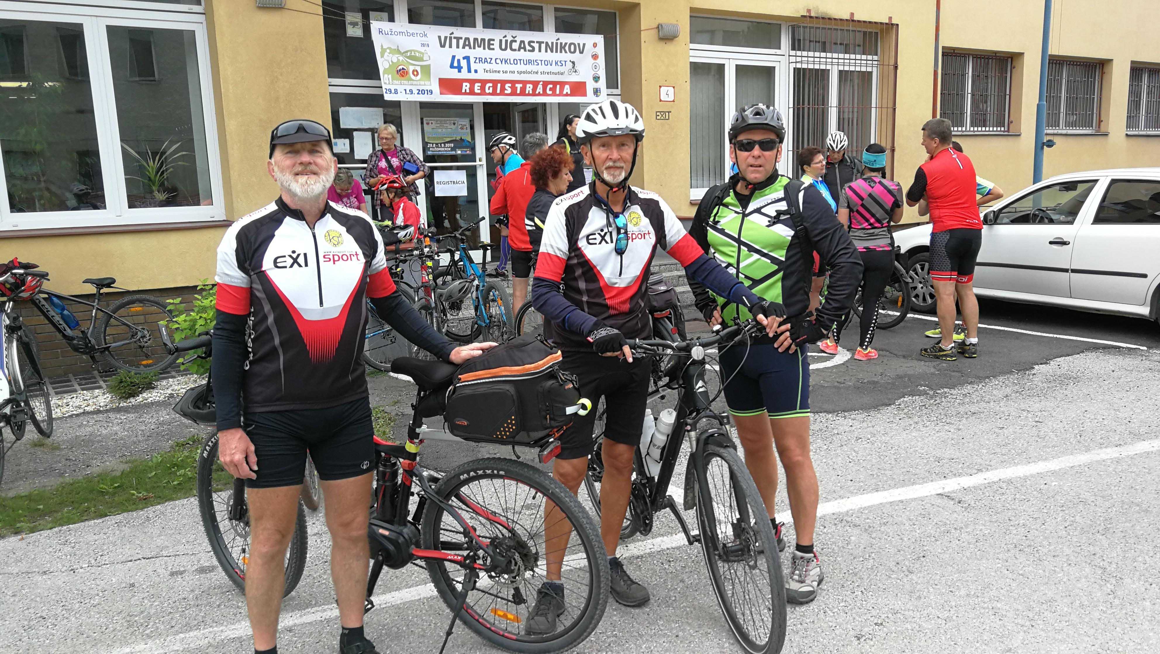 Celoslovenský zraz cykloturistov- 29.8.- 1.9.2019 Ružomberok (foto Gazda)