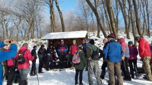 Okresný zimný zraz turistov Krivošťanka 11.2.2018