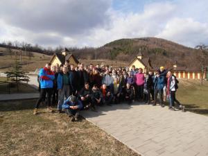 Hanigovce -nový hrad,Ľutina 16.3.2019 (foto Gazda)