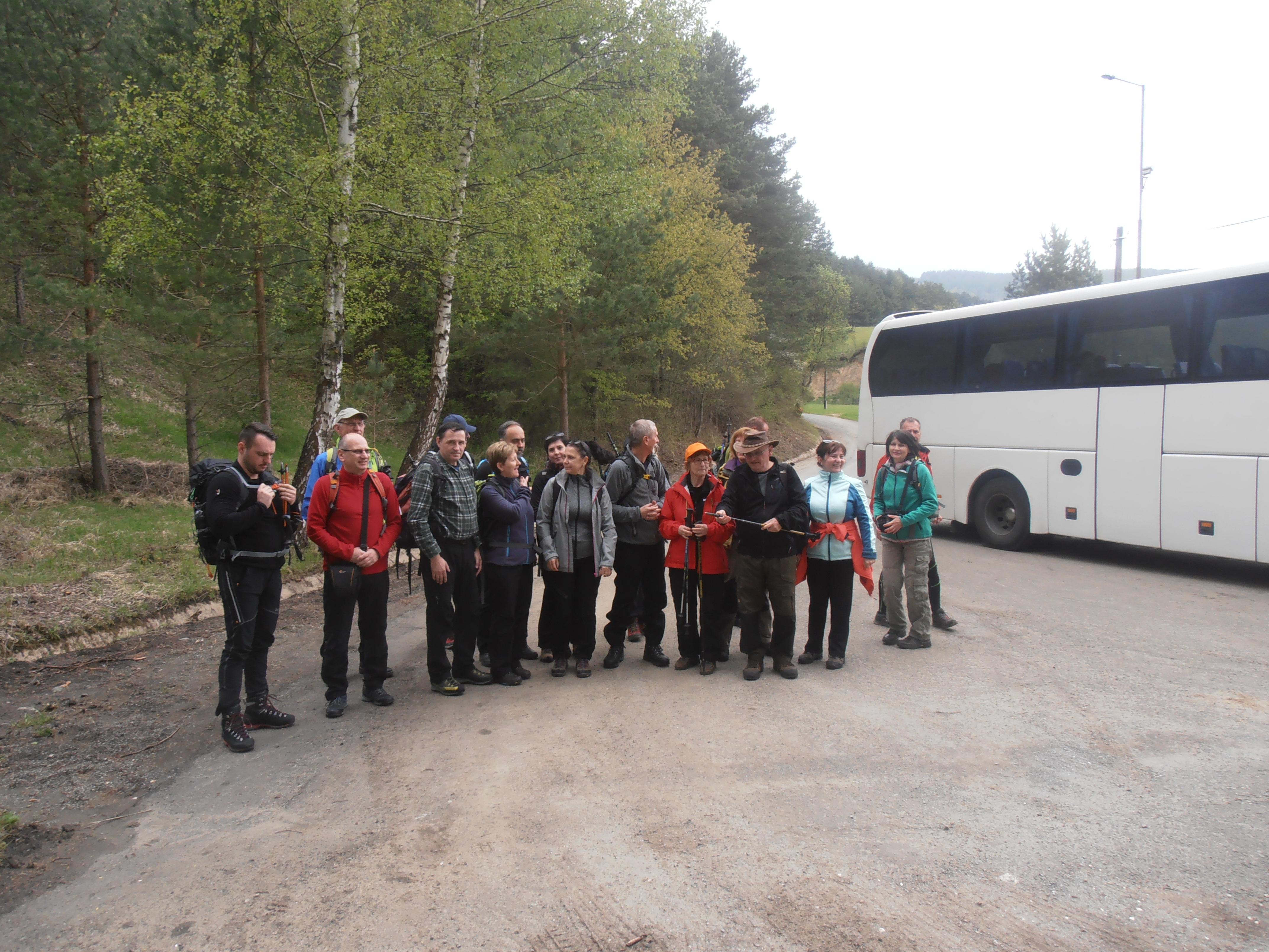 Výstup na Bachureň 1081 m. 8.5.2019 (foto Gazda)