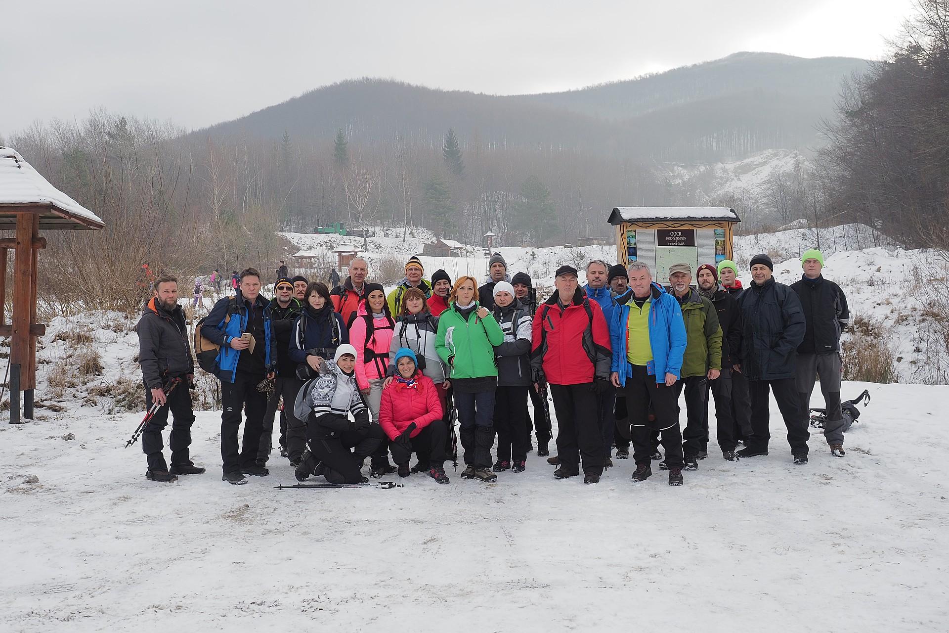45.ročník Výstup na Sninský kameň 1005m 11.1.2020 (foto Tokár)