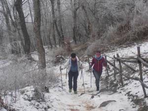 Zimný výstup n Viniansky had a  kostolík Senderov 19.1.2020 (foto Gazda)