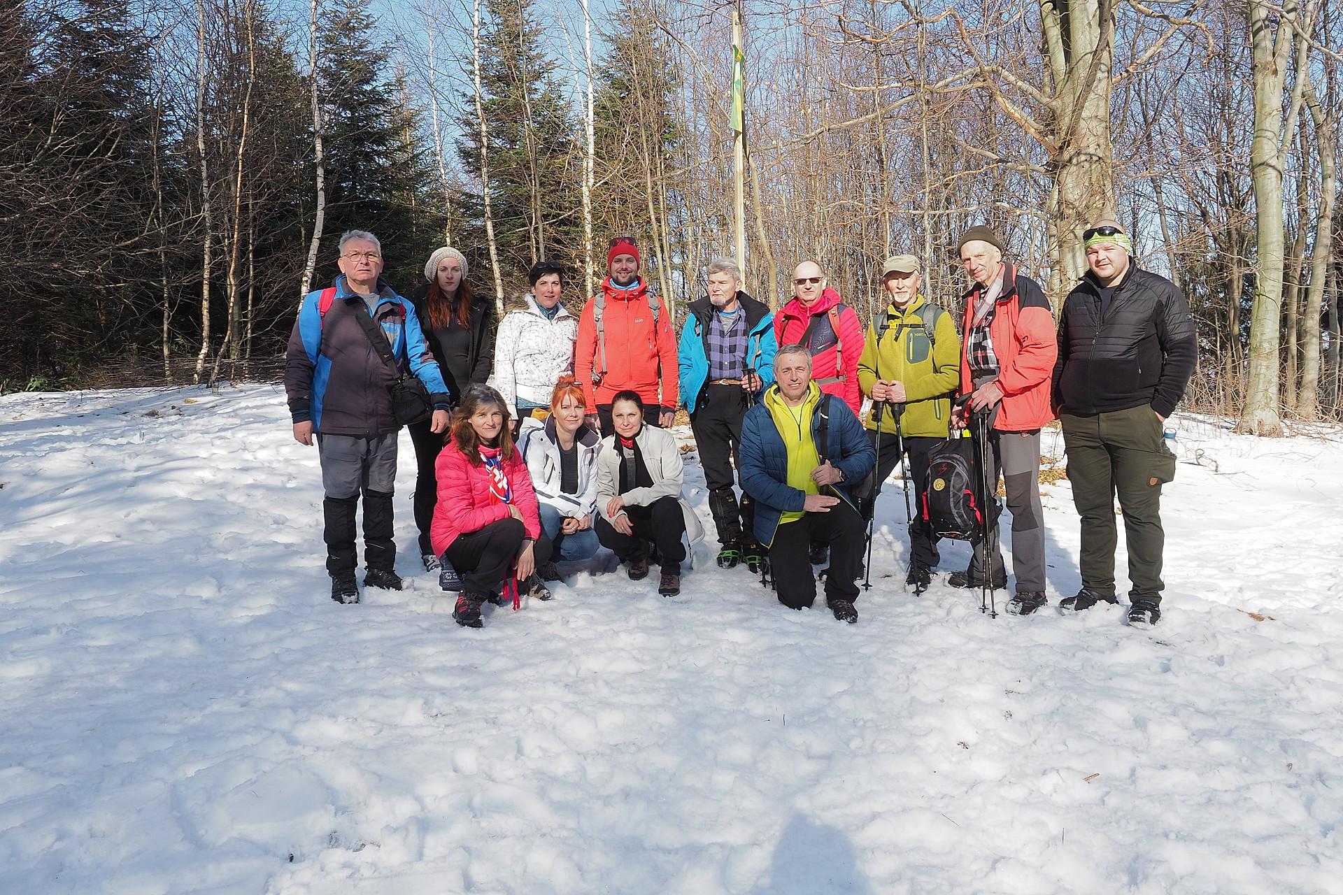 17.ročnik Primátorský výstup na Čiernu horu 1073m 15.2.2020 (foto Tokár)
