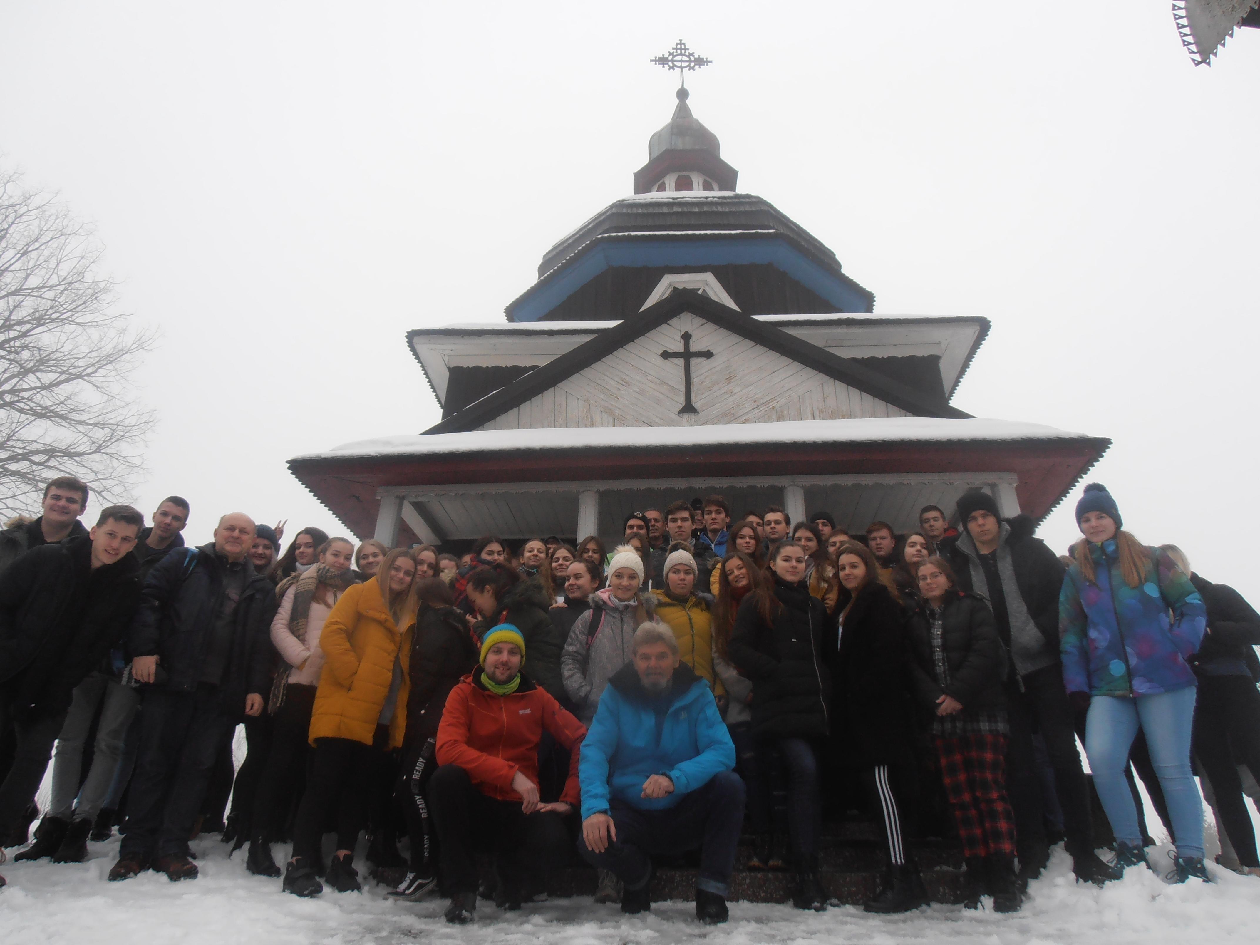 drevené kostolíky Ladomírová- UNESCO,Krajné Čierno,Nižný Komárnik 1.2.2020 (foto Gazda)