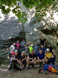 Základný kurz VHT 4.5. - 6.5.2018 (foto Horňák)